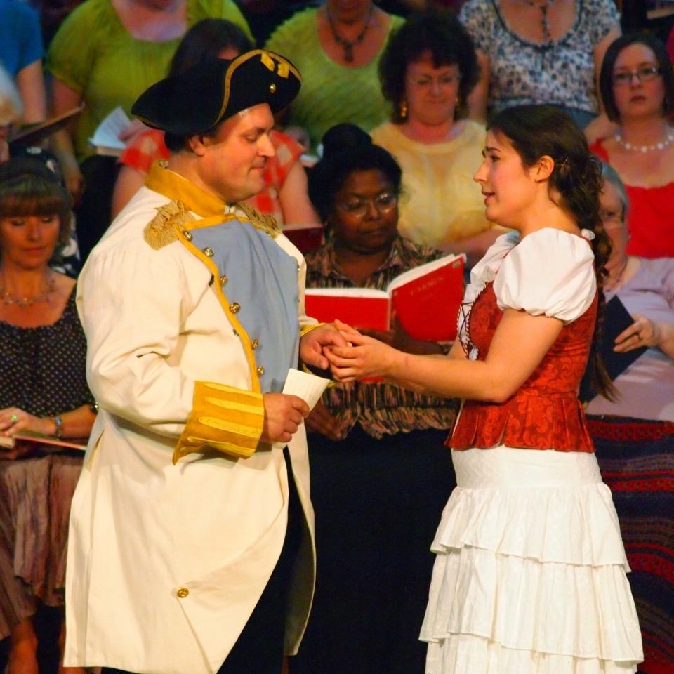 Carmen - Danae Eleni and Phill Abbott